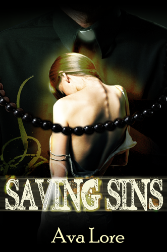 The cover for Saving Sins